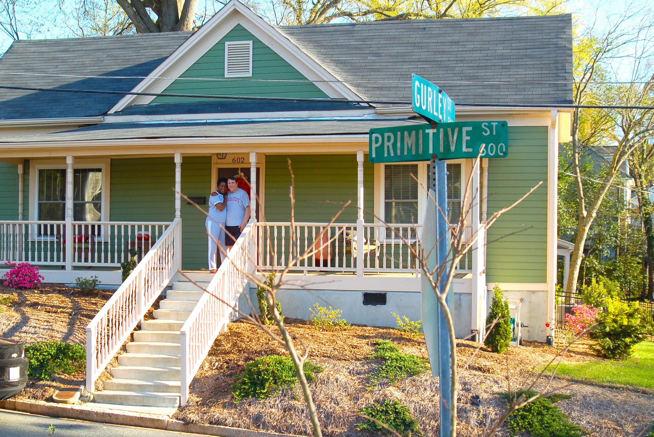602 Primitive: Ken and Angela Meashey, homeowners since 2013.
