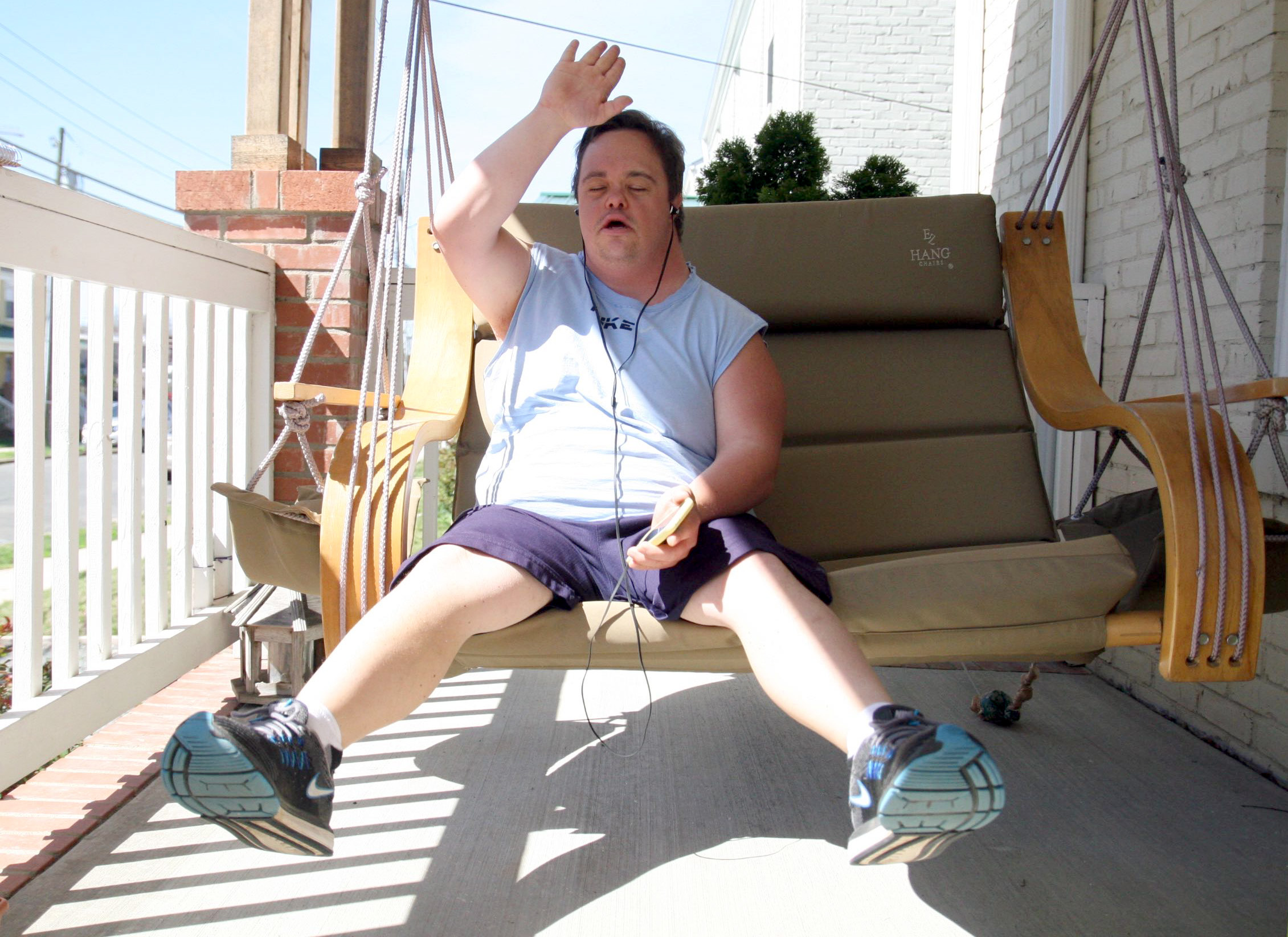 Tom On his Porch