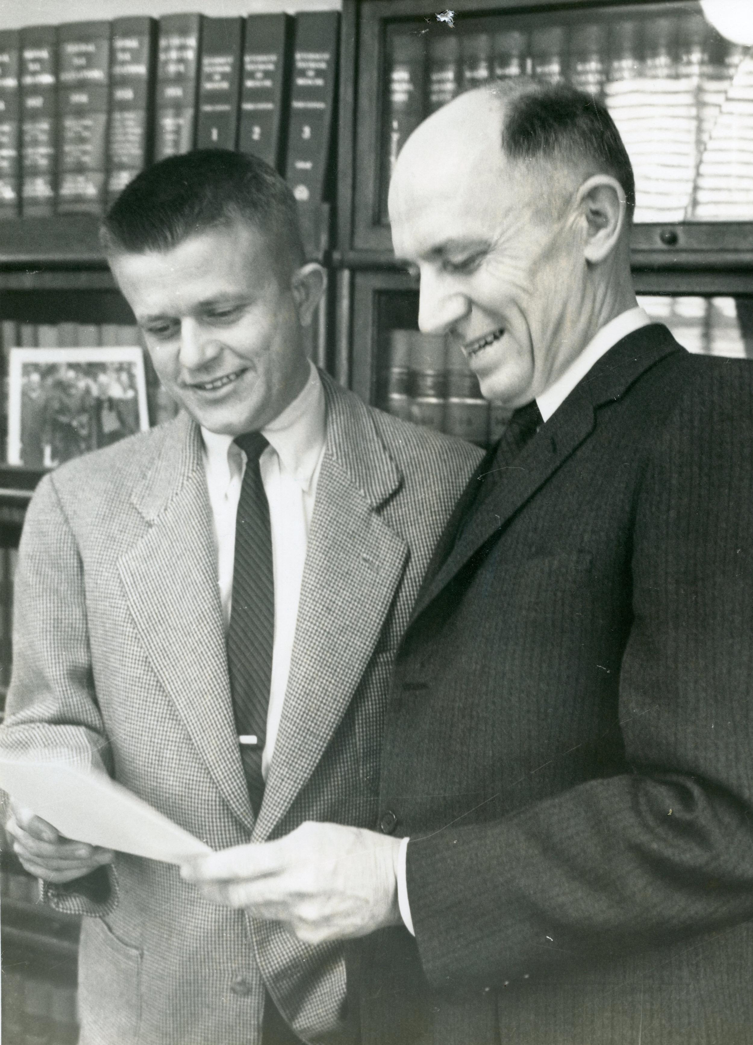 Robert Morgan and I. Beverly Lake, Sr.