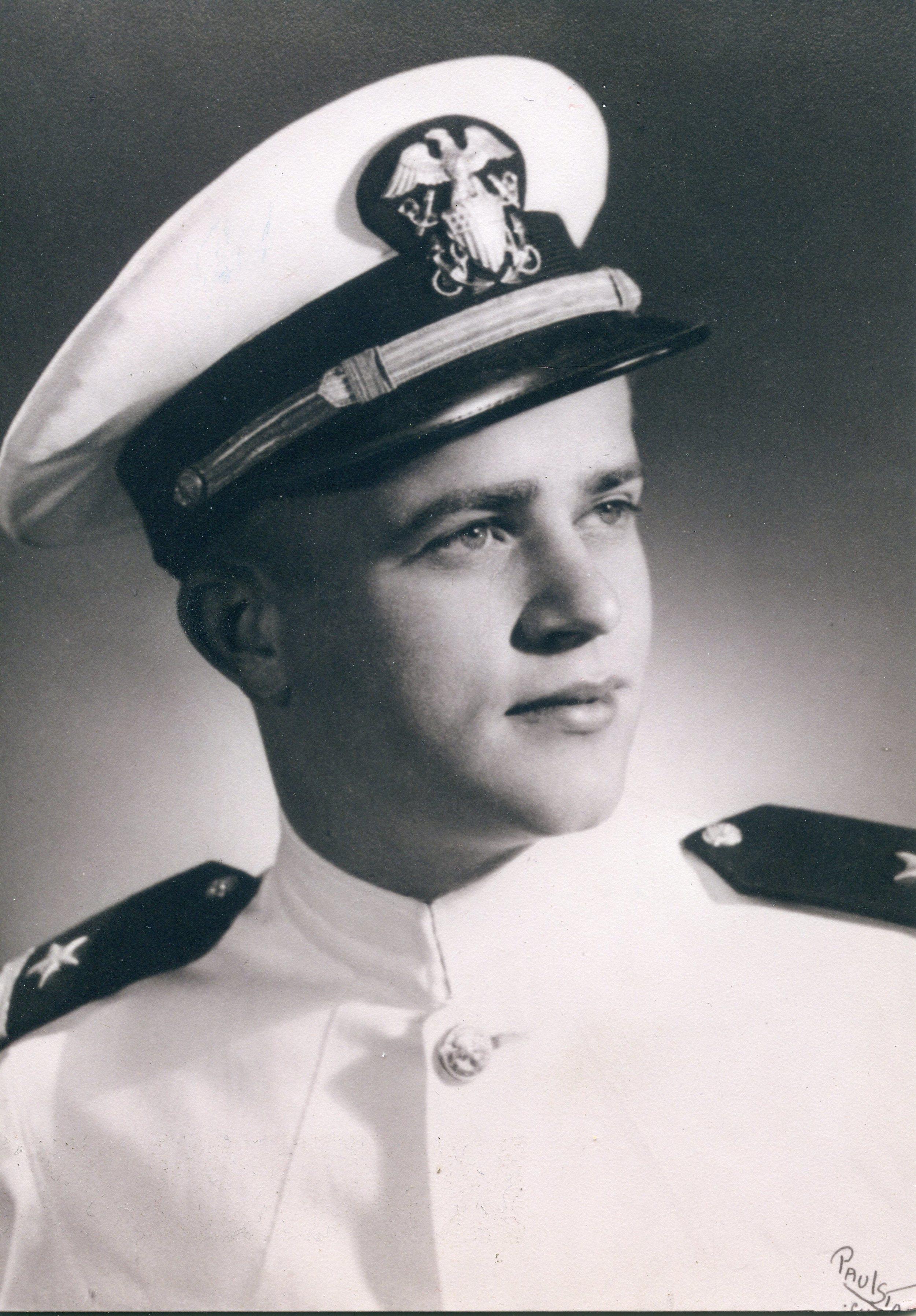 Robert's midshipmen portrait