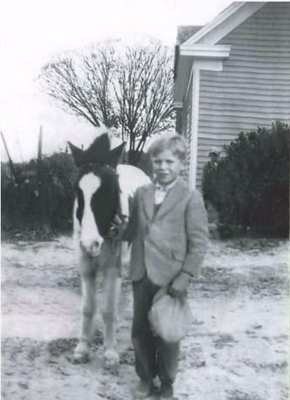 Robert as a young boy