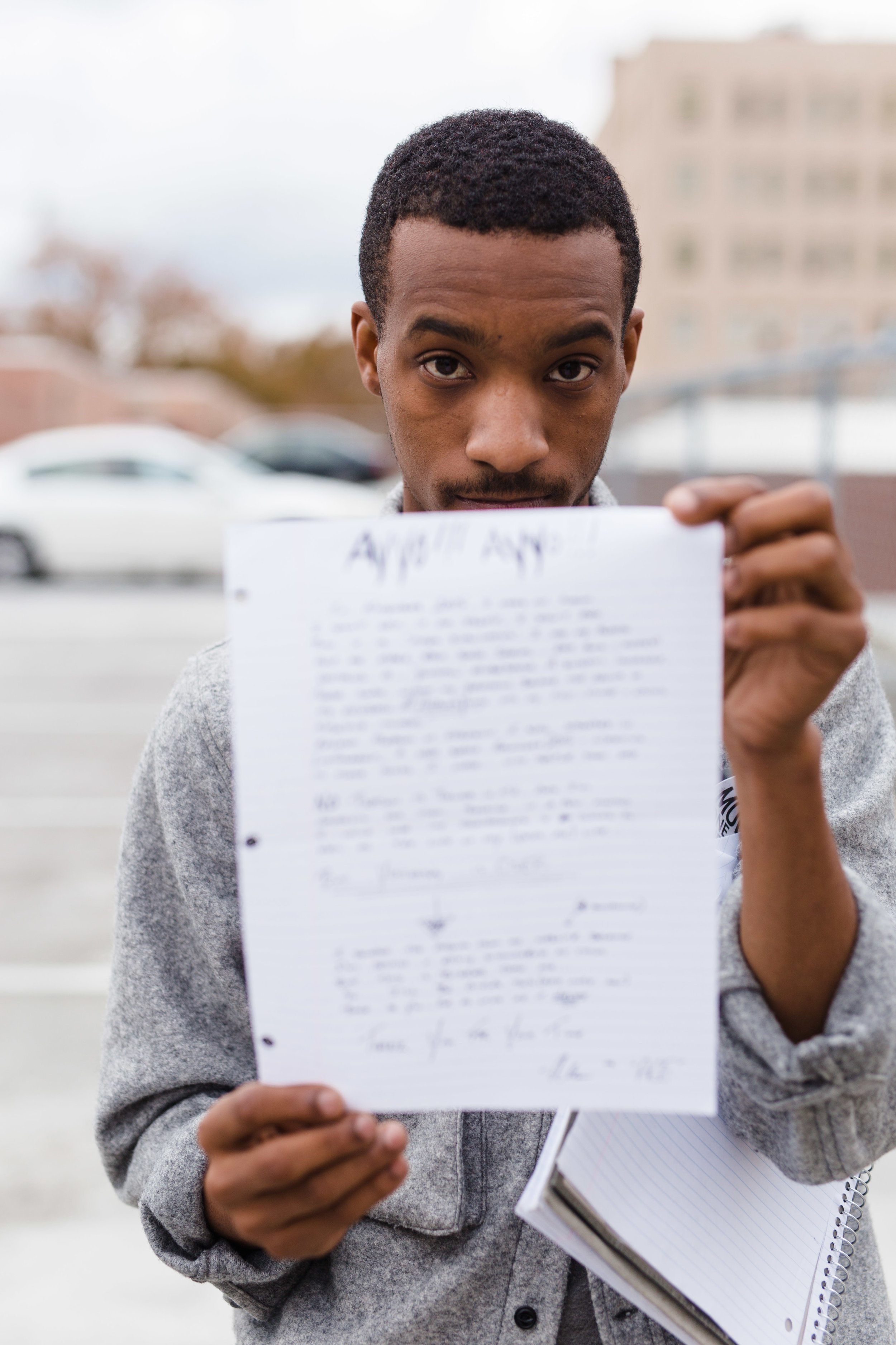Ace with a letter to his fans that will accompany the re-release of Analog Youth