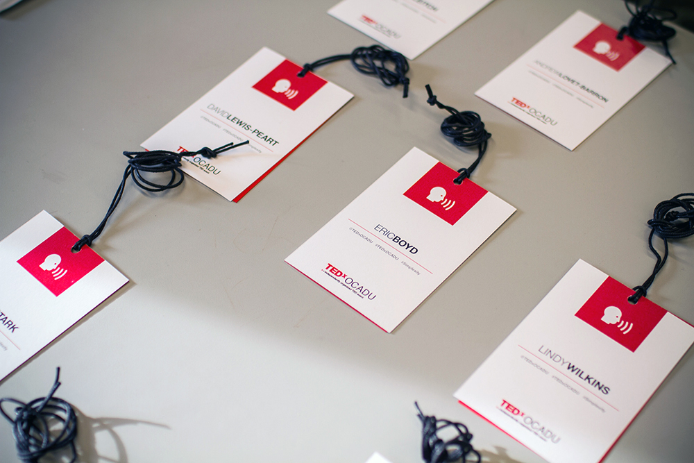 The Technology, Entertainment, Design (TED) community is a global speaker series focused on  Ideas Worth Spreading . This was the inaugural TEDx event at OCAD University, where 'x' represents an independently-organized TED event.