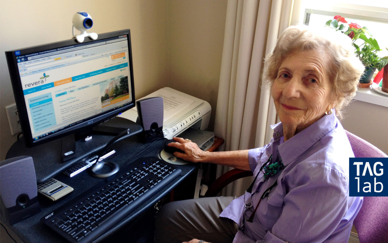 The Technologies for Aging Gracefully Lab (TAGlab) is committed to leveraging technology to improve the way we age. This project was centred around supporting the elderly who find themselves isolated, using technology to increase opportunities for meaningful human connection.