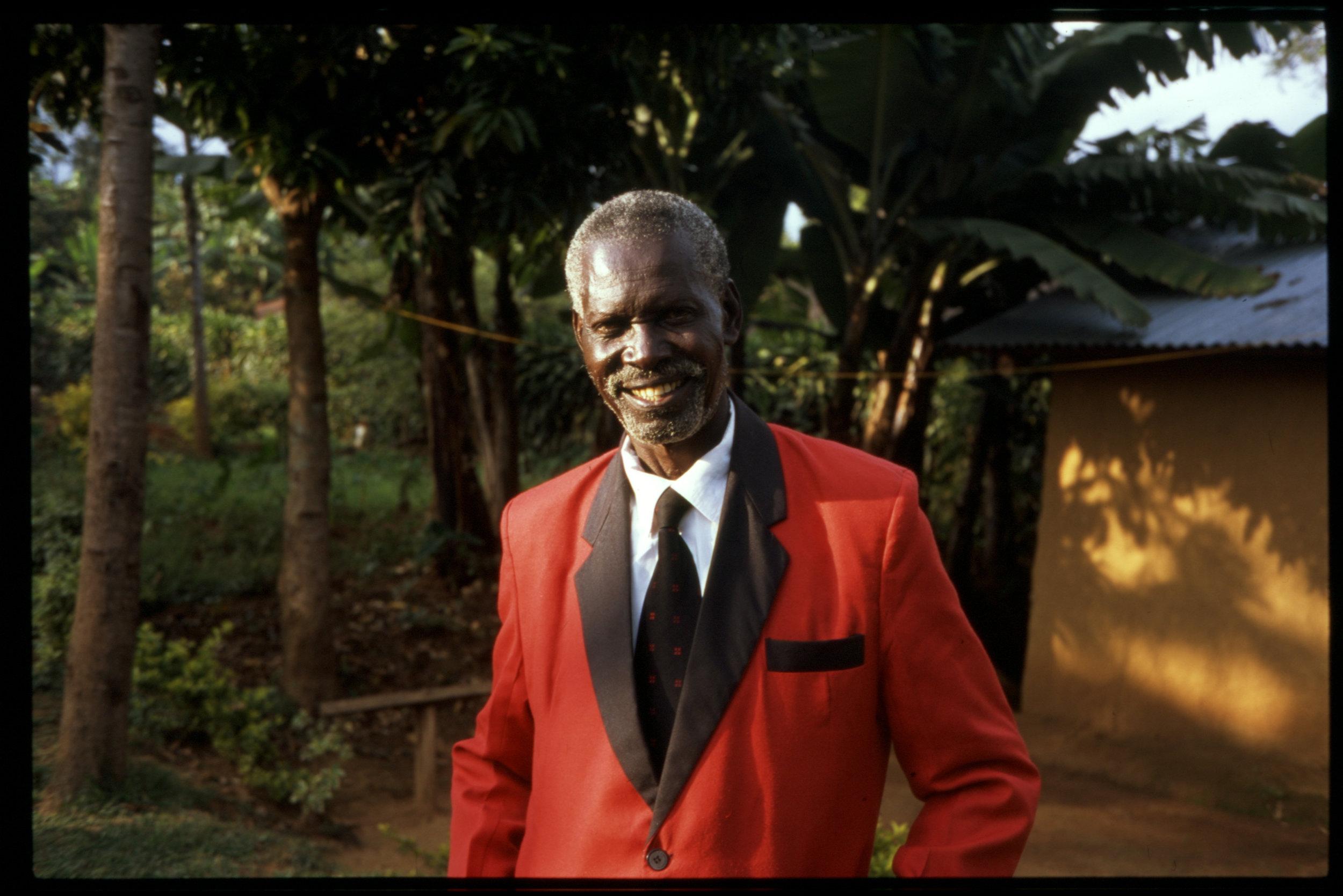 The great Sukuma Bin Ongaro at home, 2018 (35mm film)
