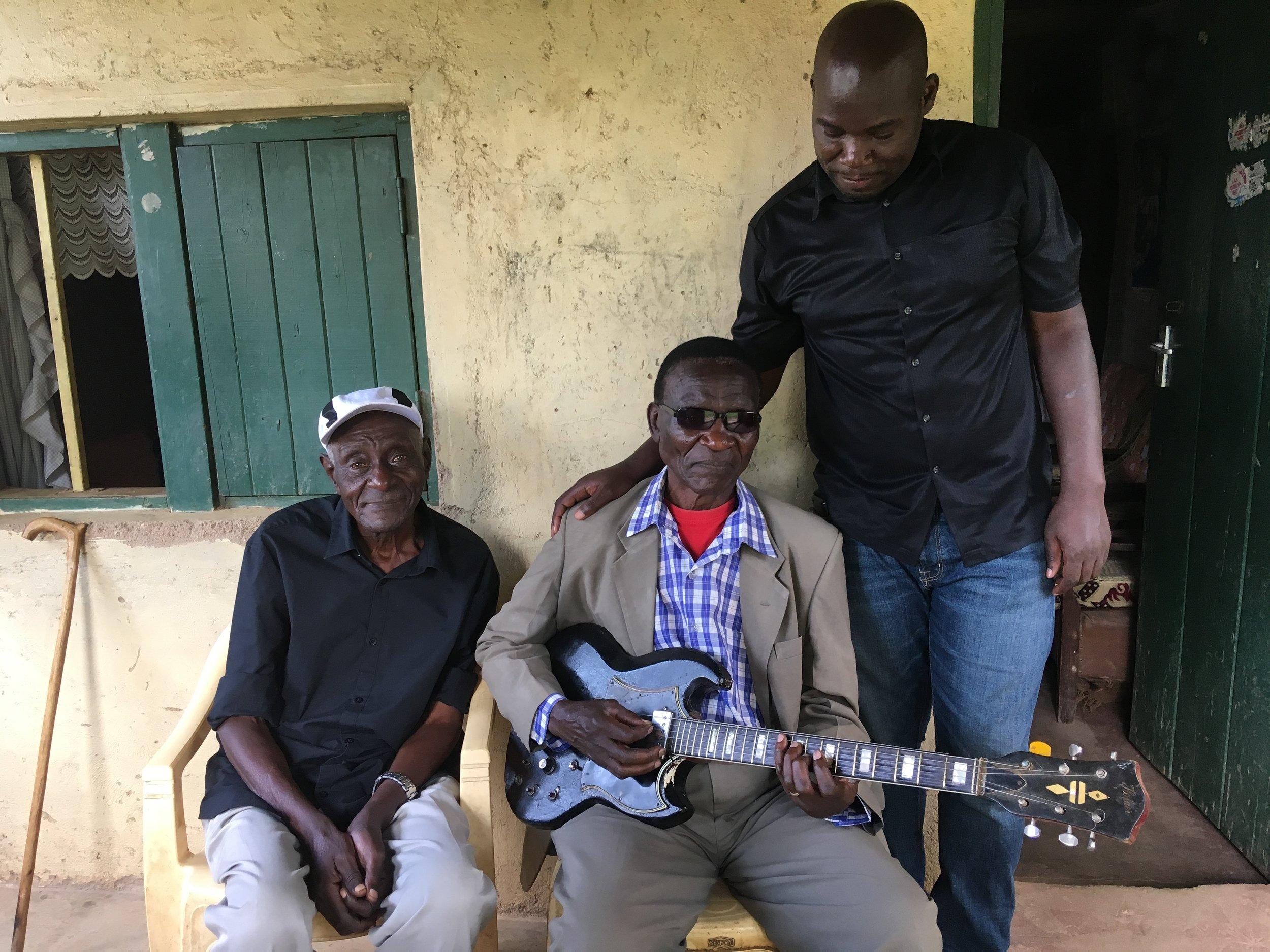 John Nzenze (of Angelike Twist fame), James Bongo, Timothy Lusala