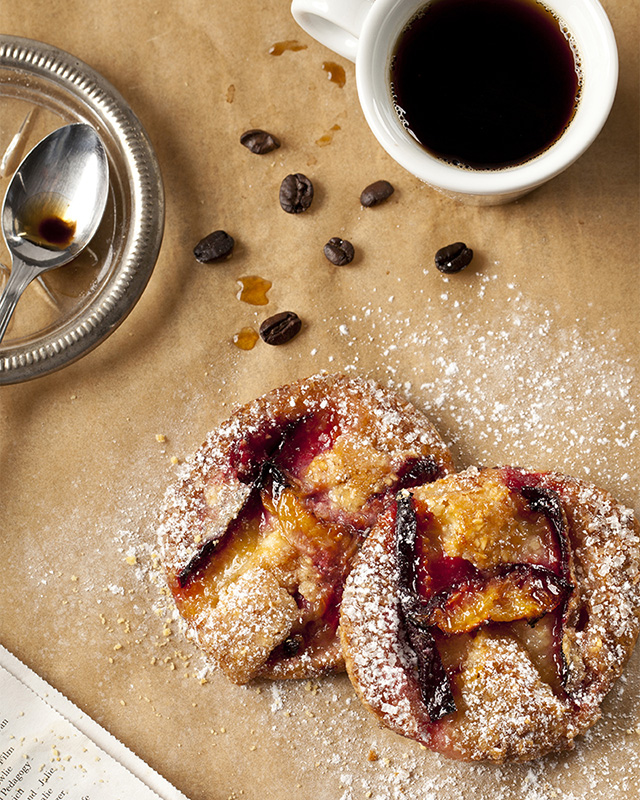 Food Photography - Coffee and Pastry