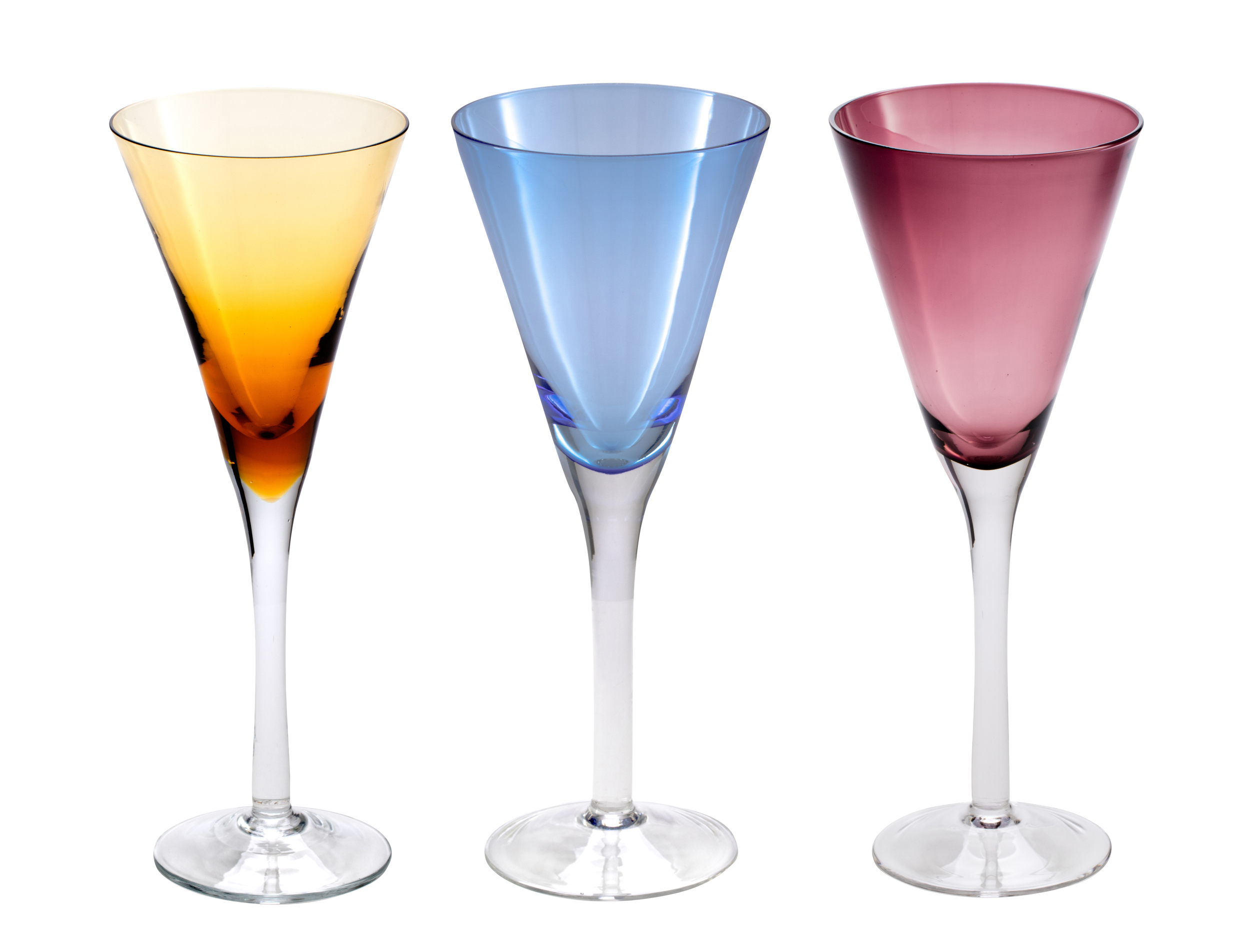 Product Photography - color goblets