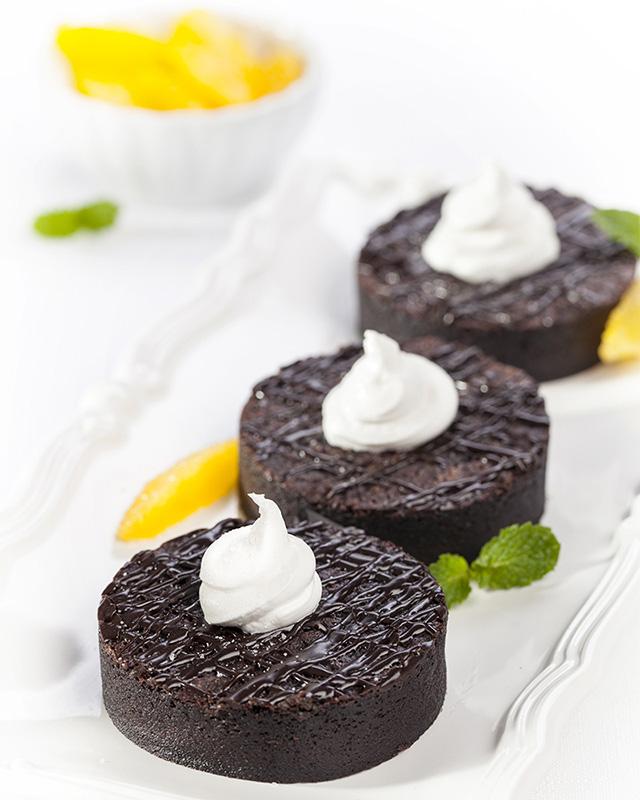 Food Photography - Chocolate Brownies