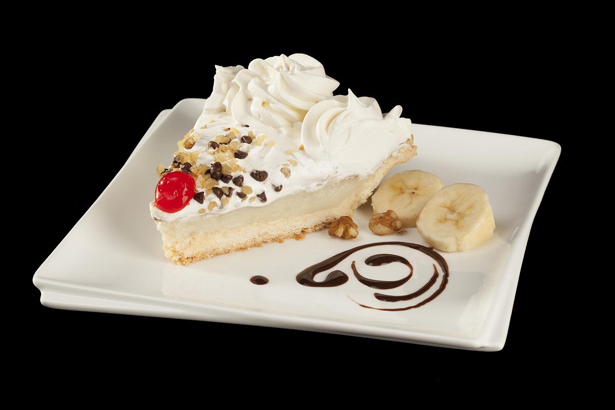 Food Photography - Banana Cream Pie