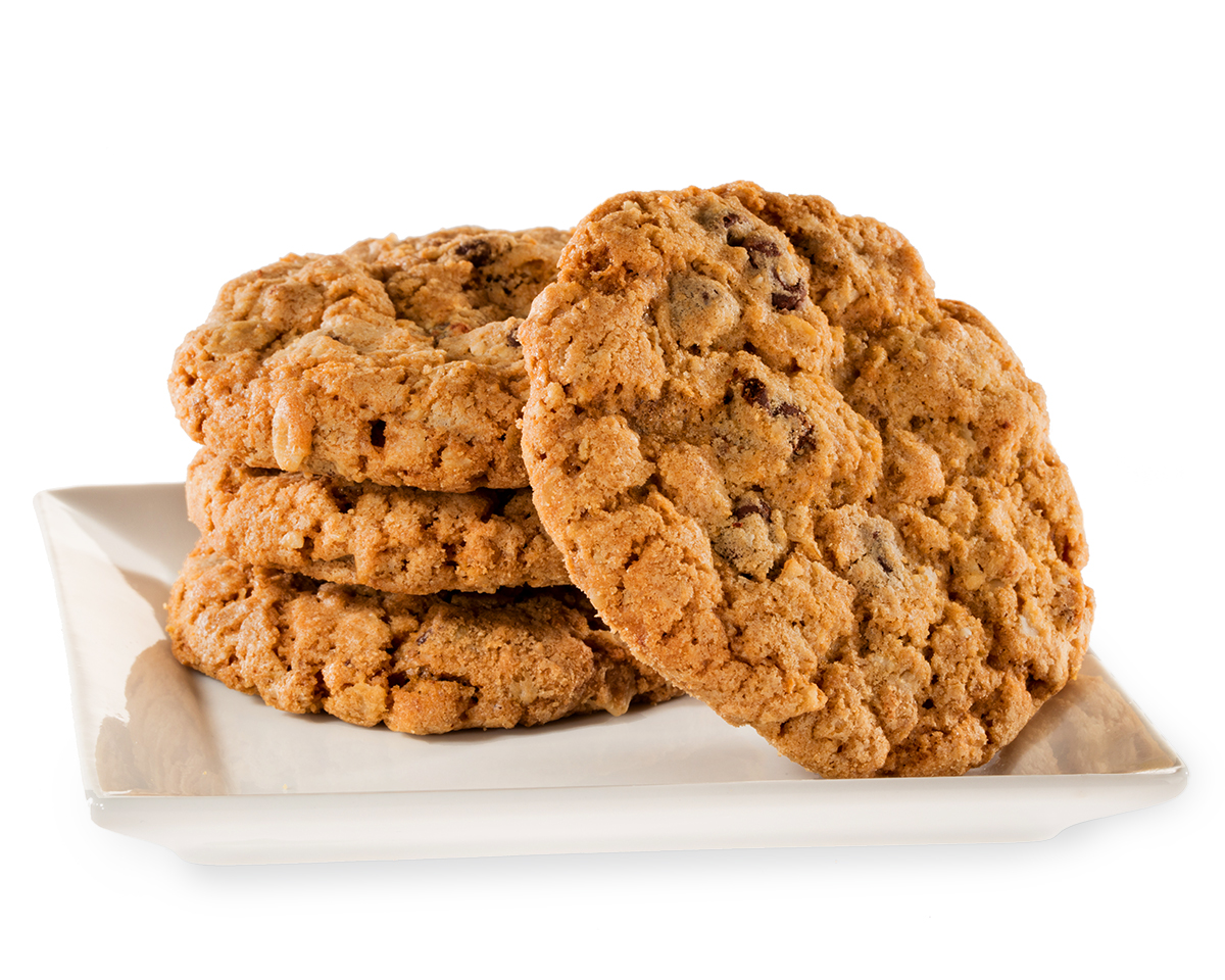 Food Photography - Oatmeal Cookies