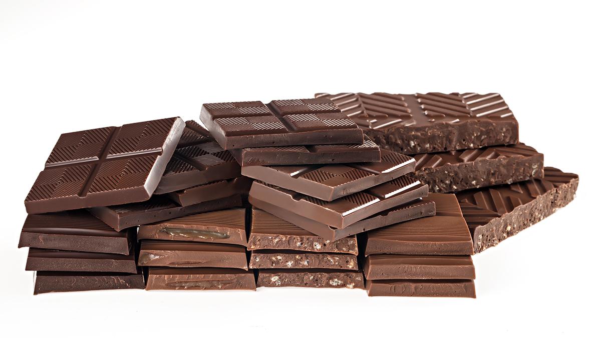 Food Photography - Chocolate Bars