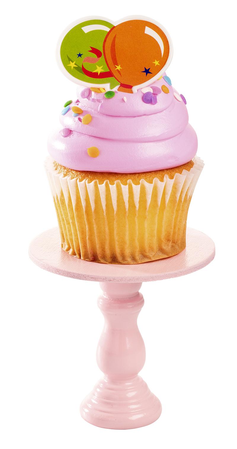 Food Photography - Birthday Cupcake