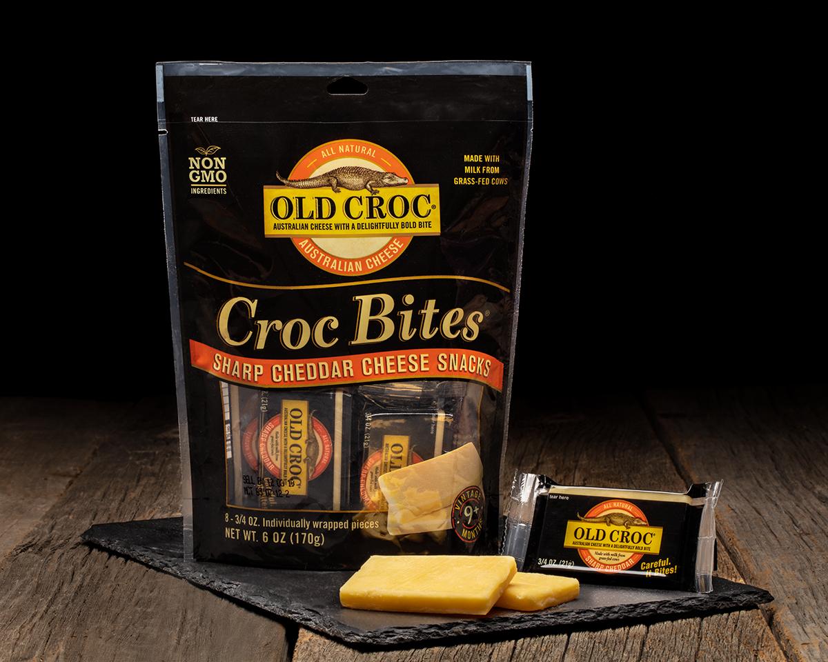 Product Photgraphy - Croc Bites Cheese