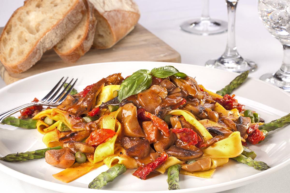 Pasta Primamera with Asparagus