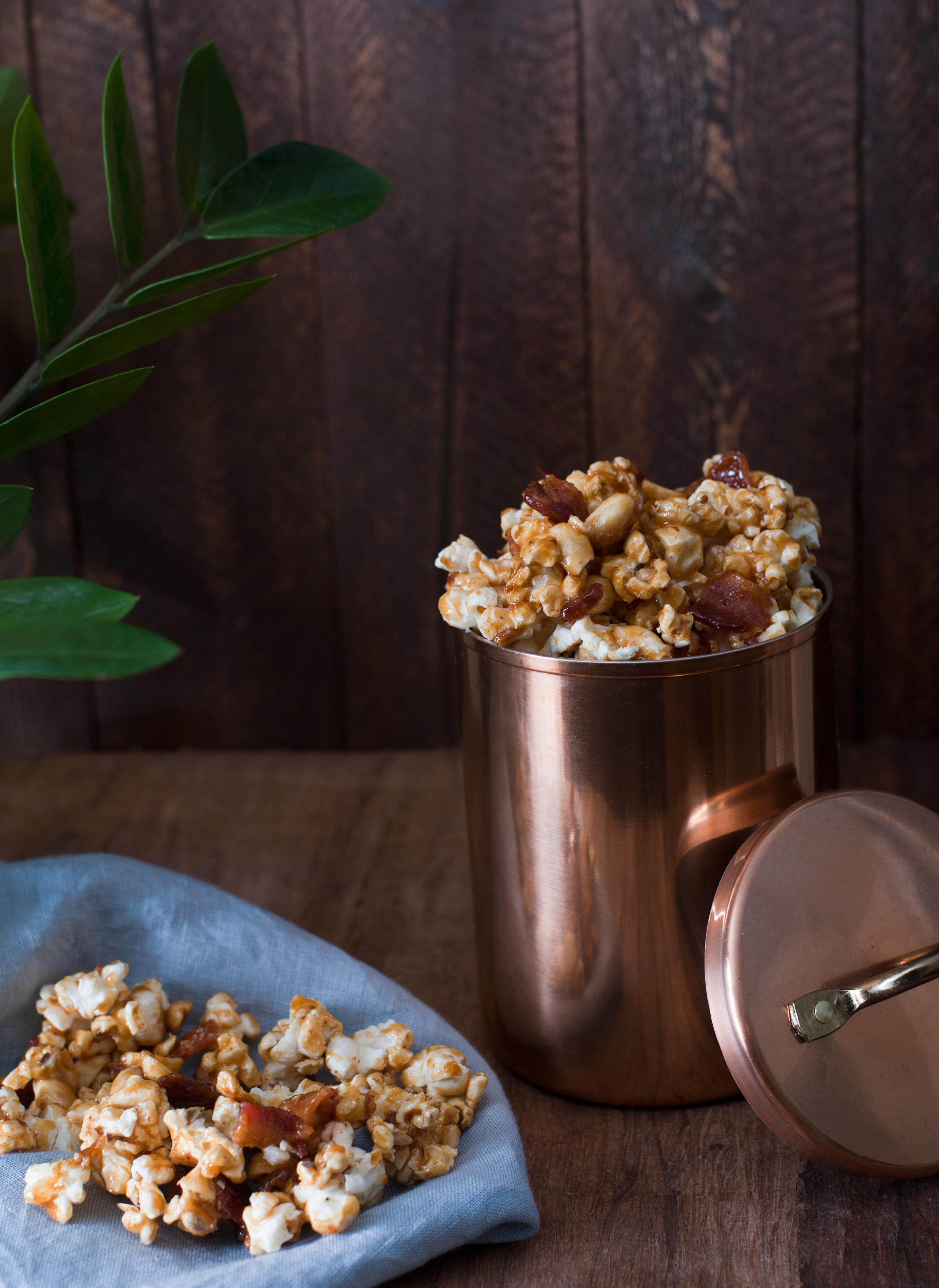 Smoked Maple Bacon Popcorn -photo by Nathan Hubble