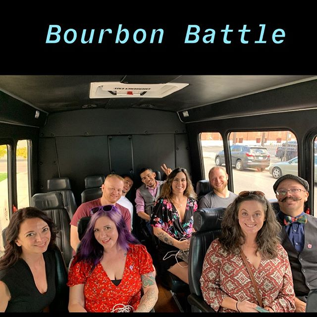 Heading to @luxrowdistillers for Lux Row Bourbon Battle. 🥃