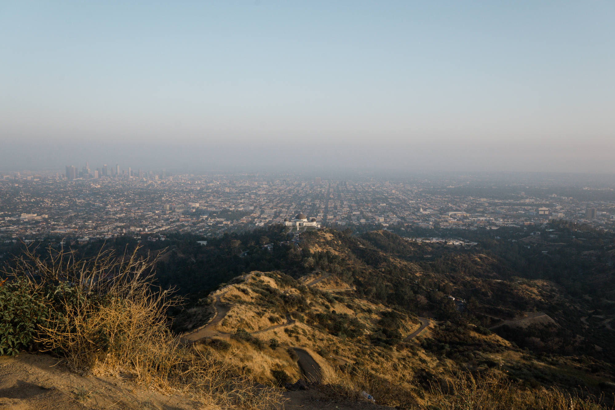 GRIFFITH PARK HIKE LOS ANGELES