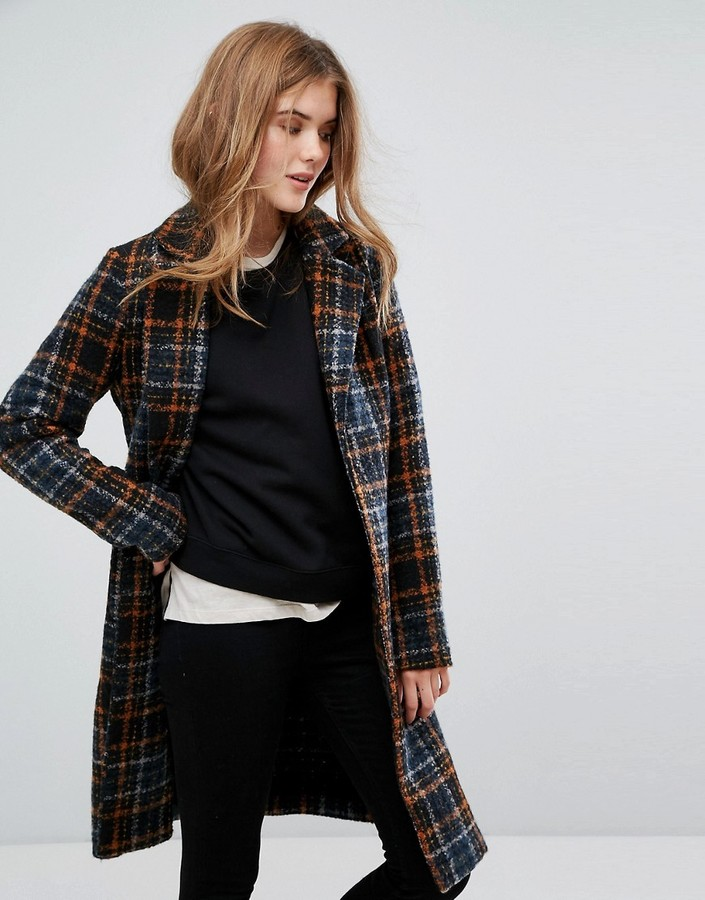 3. Only, Plaid Coat