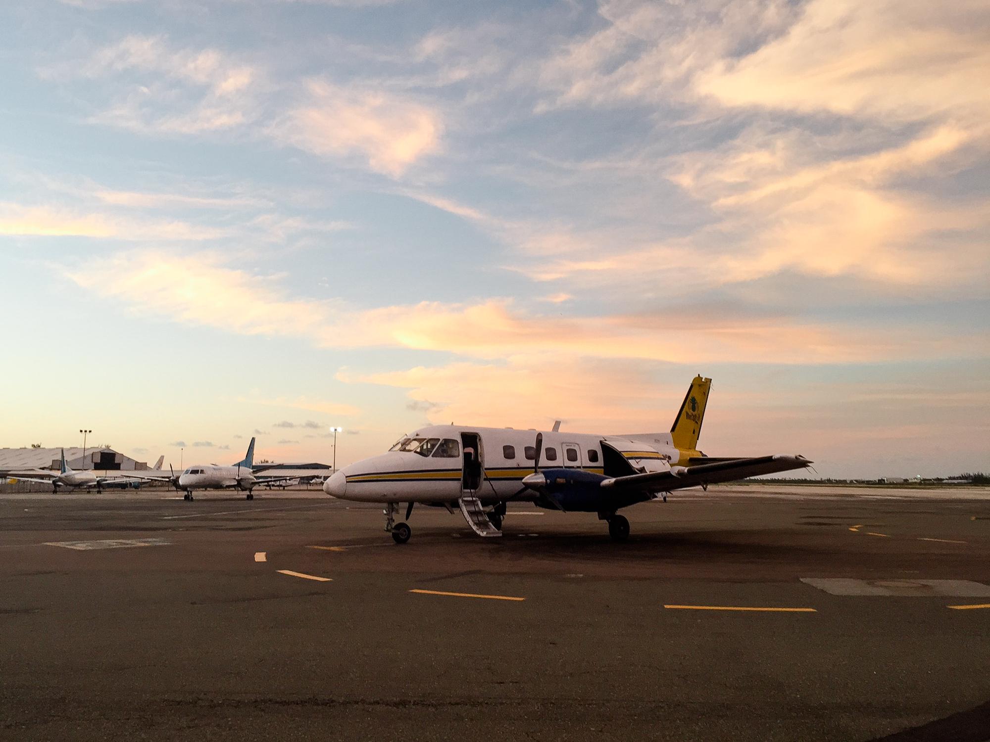 exuma bahamas flight