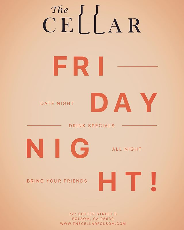Come hang with us at The Cellar 🥂🍺🍷🍽 #folsom #historicfolsom #eldoradohills #sacramento #roseville #rocklin #winebeerfood #localbrews #localwines #local #smallbusiness #shopsmall