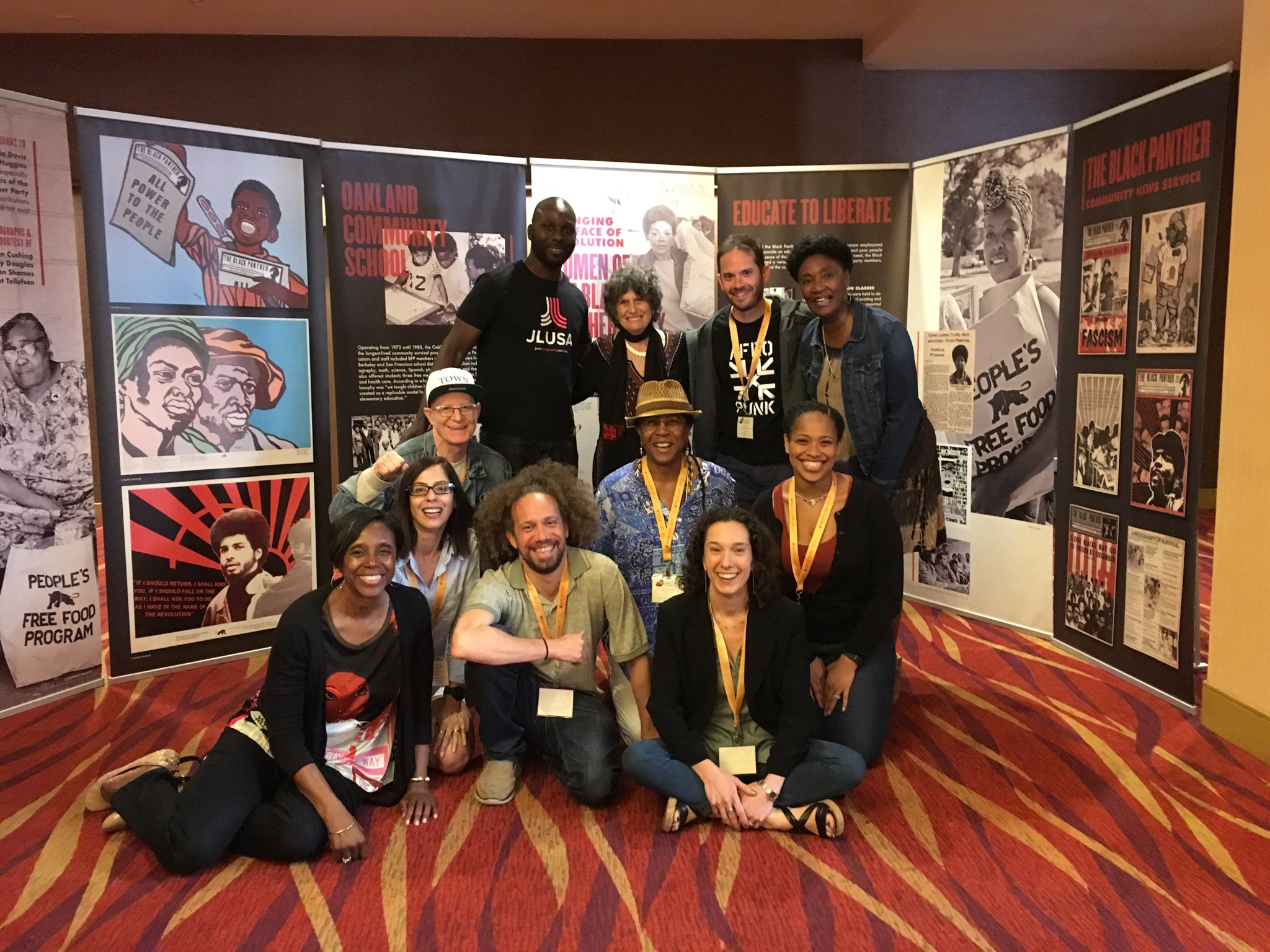 New Yorkers at the National Association of Community and Restorative Justice conference, Oakland, CA June 2017