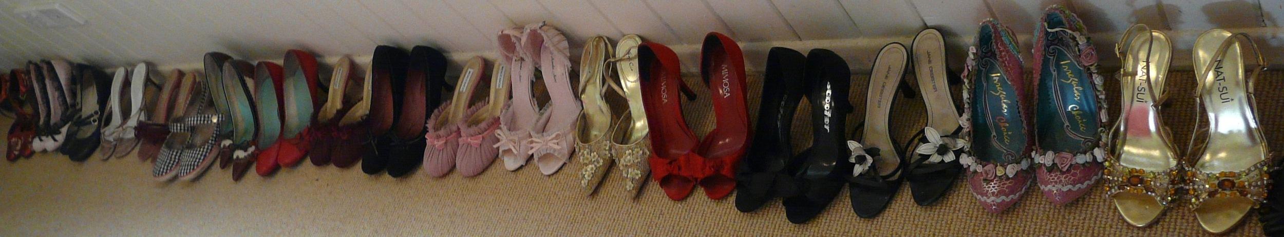 Extra shoe problem
