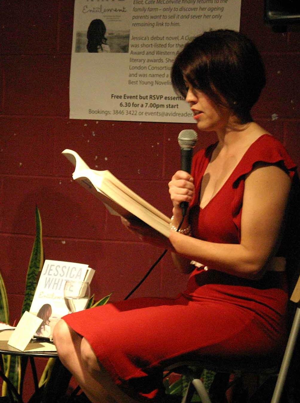Jess reading