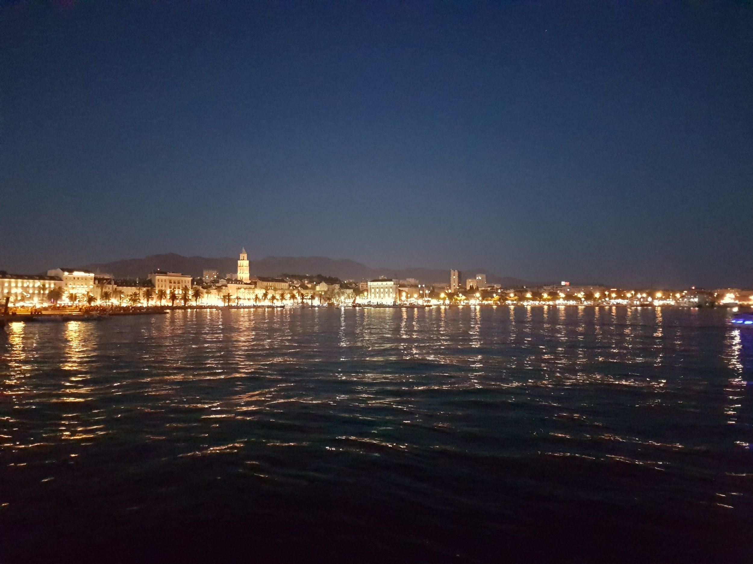 Split by night.