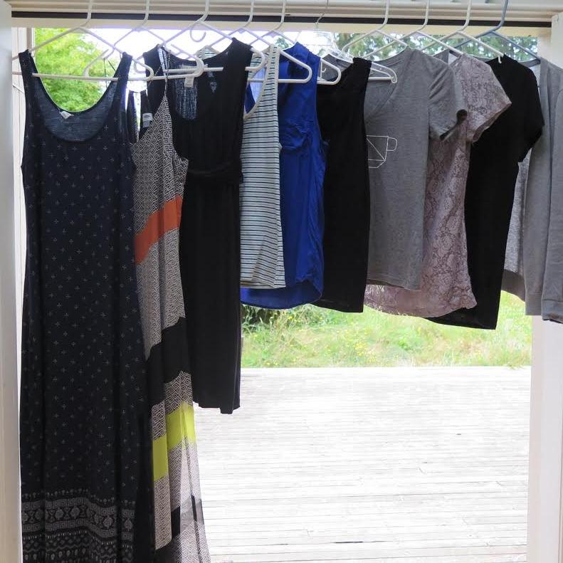 Kaisa's simplified summer wardrobe