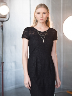 A little black lace dress like this one from Mata Traders will never be the wrong choice.   Cost: $89 USD