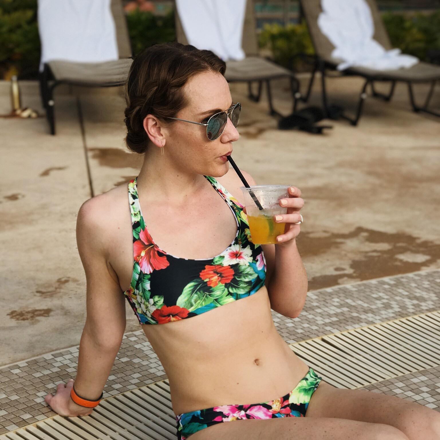 ethically made reversible bikini