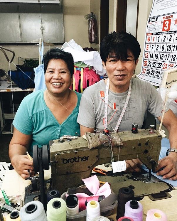 Artisans at Conrado's factory