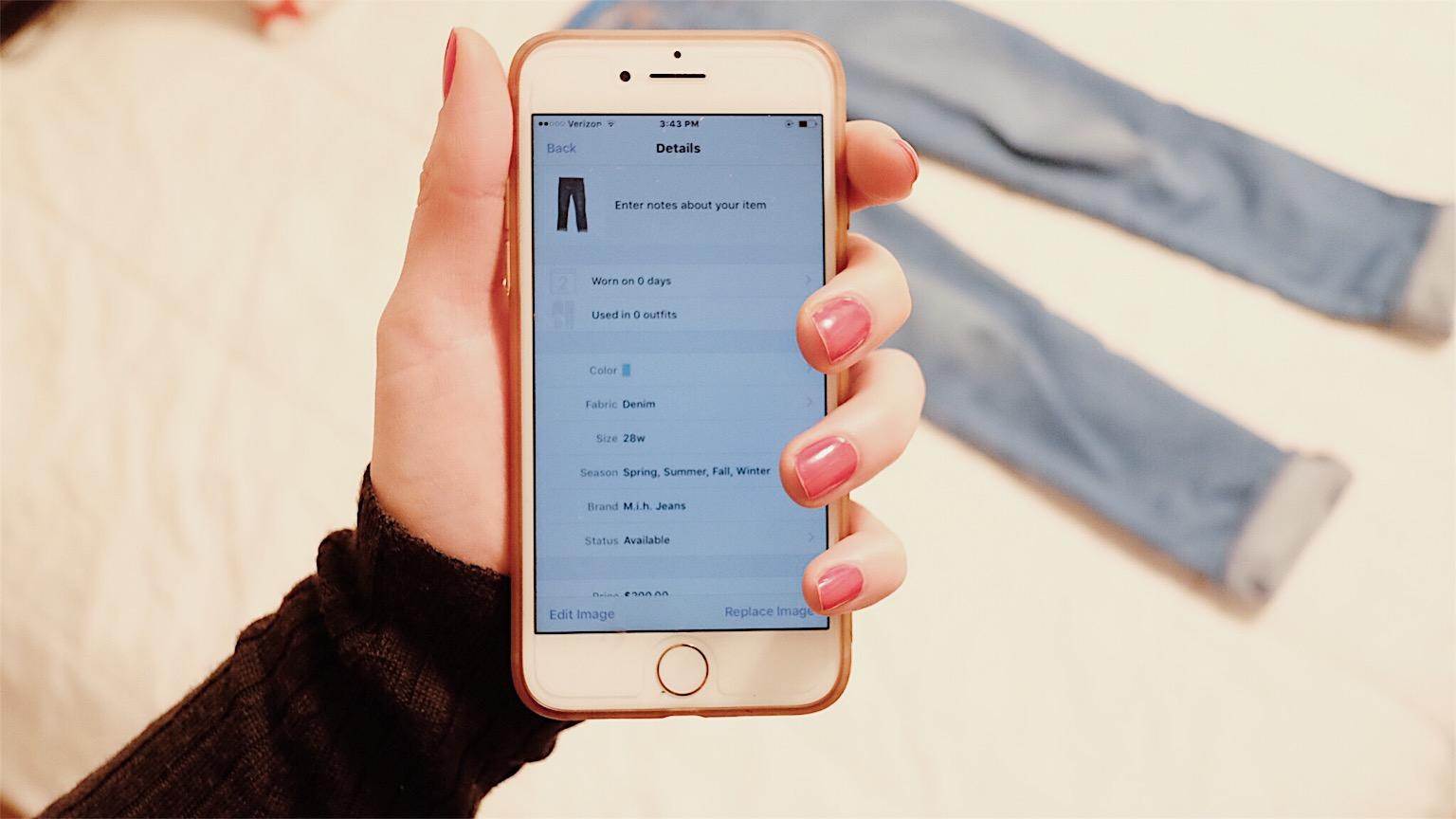 closet organization app