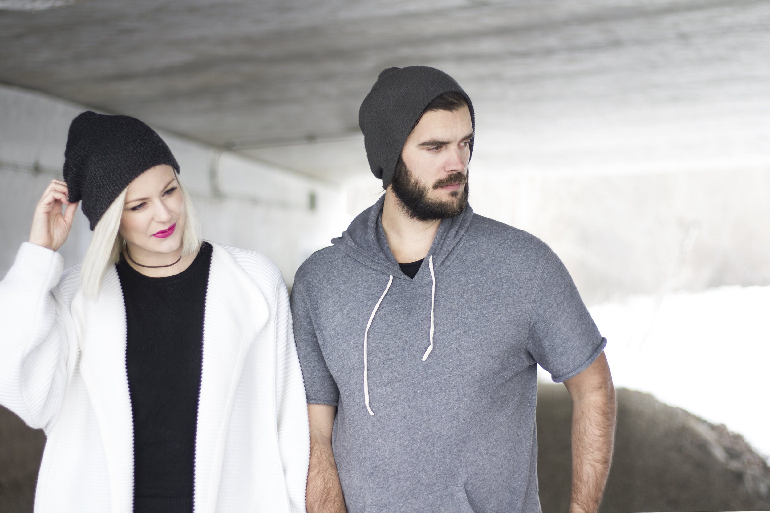 Conscious couple - ethical lifestyle