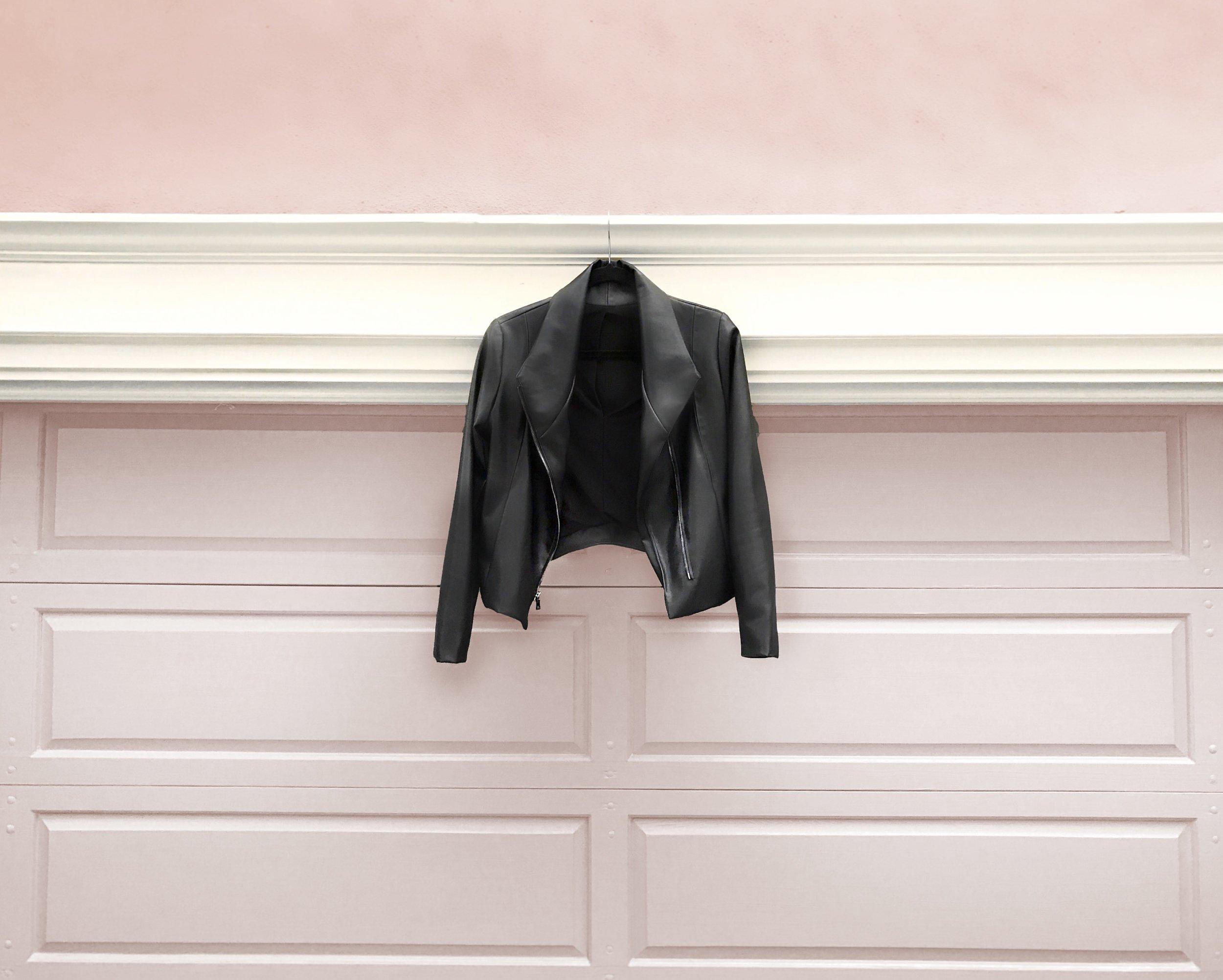 Lifestyle_Jacket Blush Wall_Brevity Brand.JPG