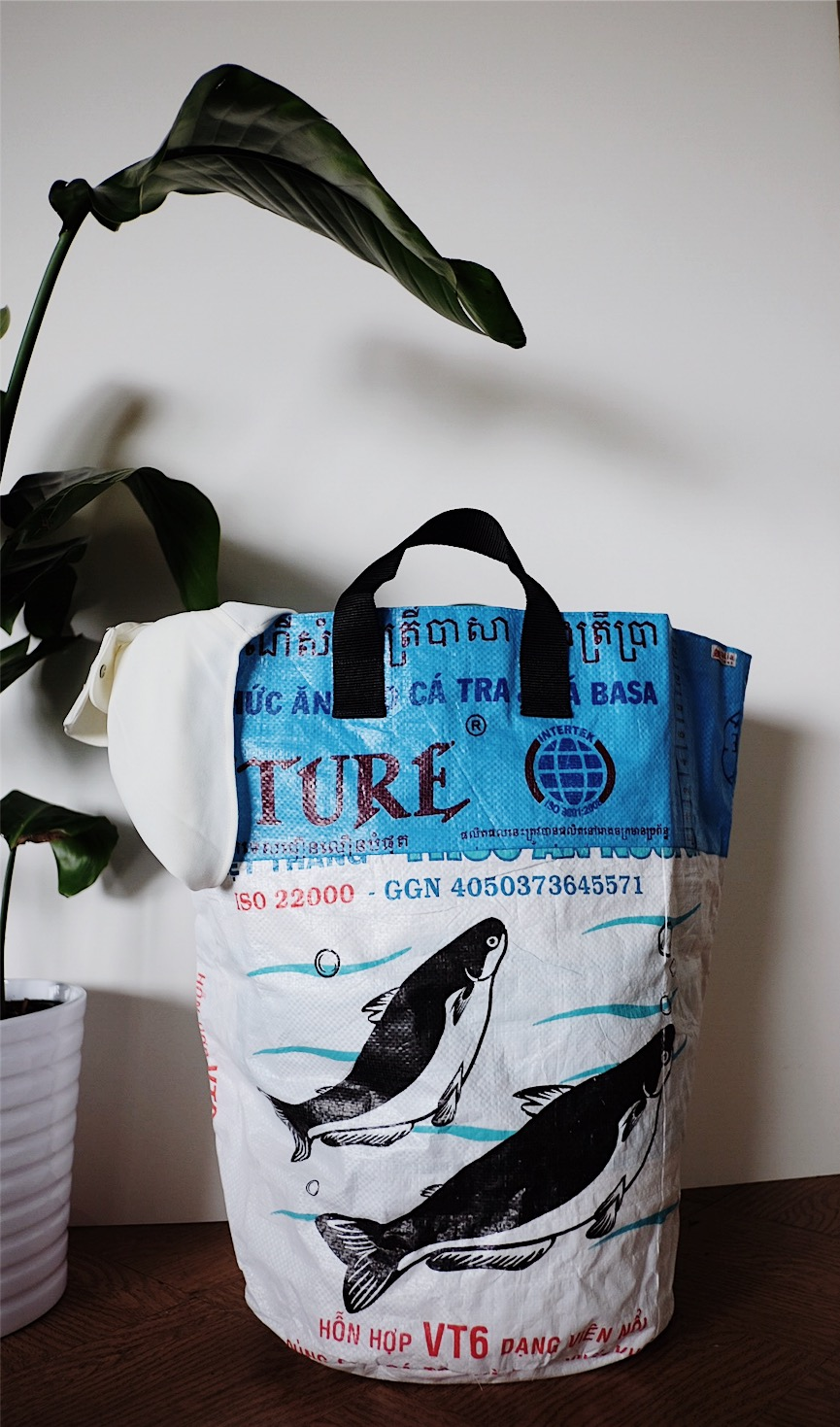 recycled flexible laundry hamper