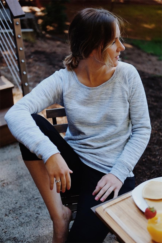grey ethical sweatshirt