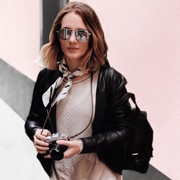 Take $25 off your jacket from  Brevity  using promo code ELLIE25