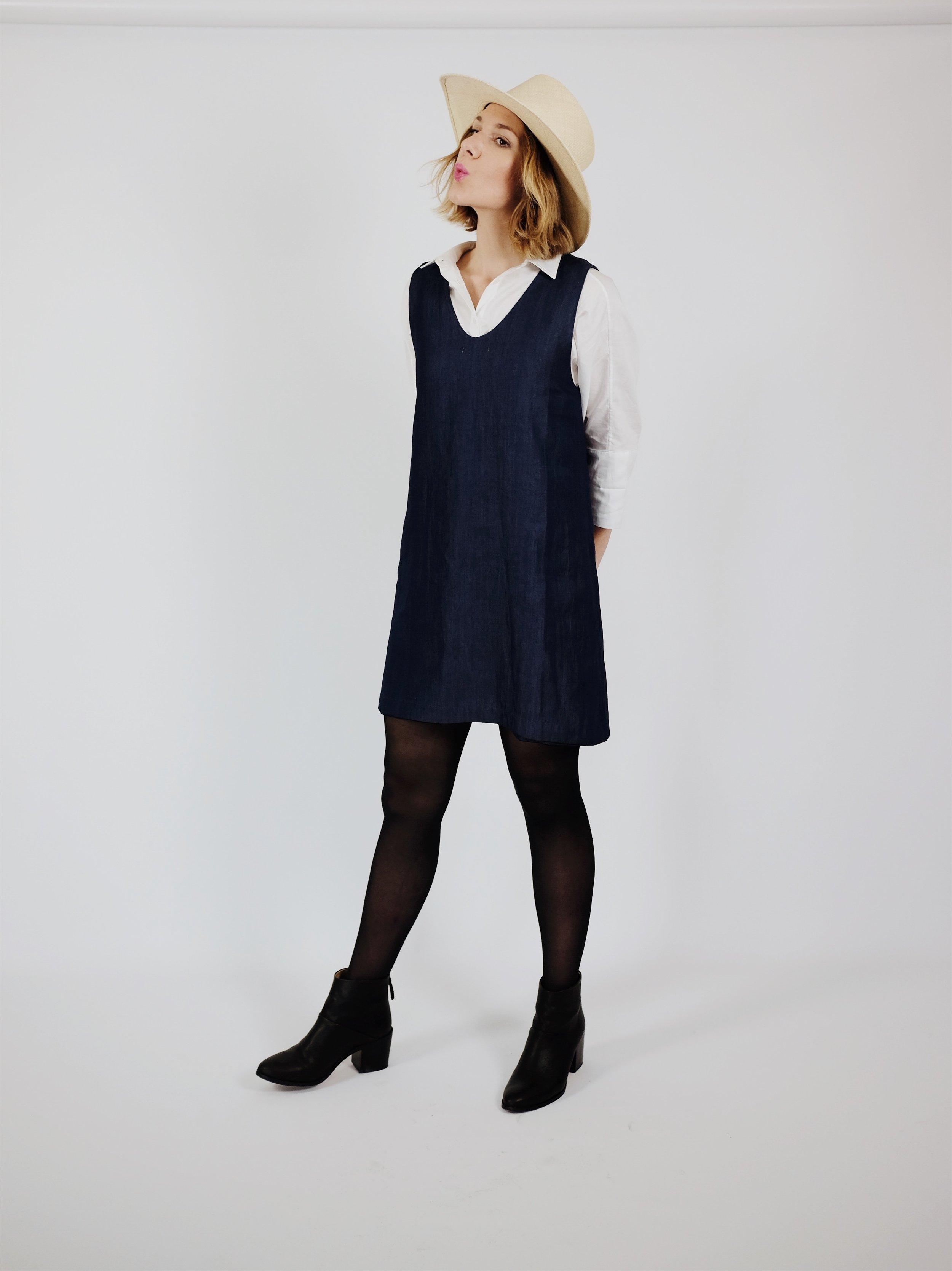 Vetta Reversible Dress | Minimal Capsule