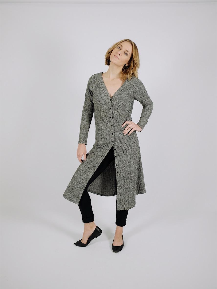 Grey Cardigan | VETTA