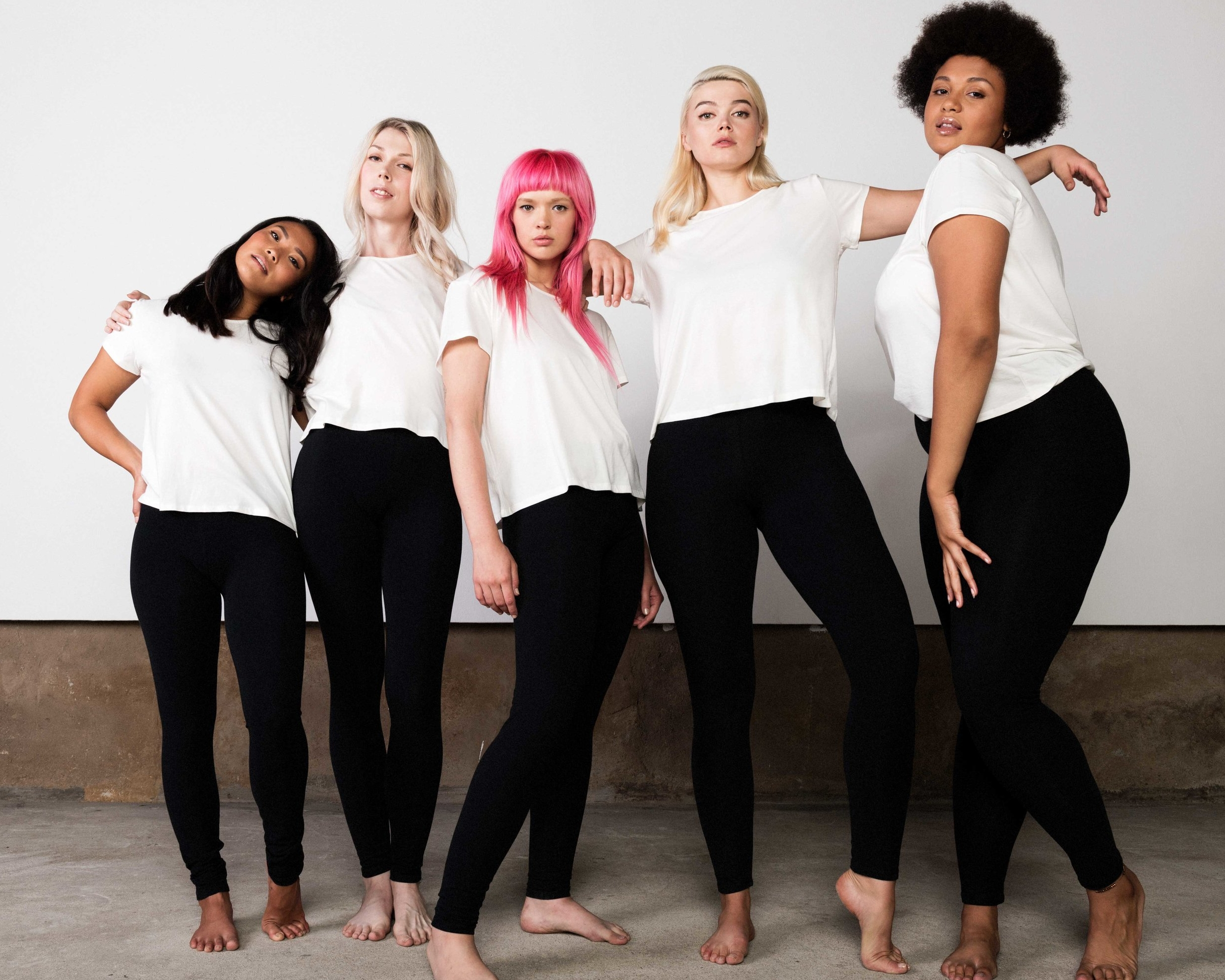 LEGGINGS | $60 - Leggings... made sustainably! These organic cotton leggings have been a favorite for seasons. They are an easy and simple swap for a clean, green, and ethical wardrobe! Made from the softest organic cotton + spandex blend with a 1.5
