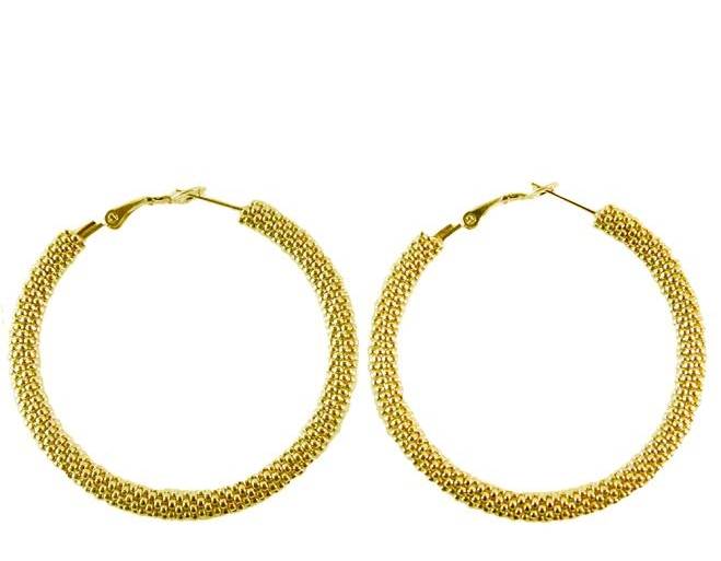 METALLIC HOOPS | $125 - You should never have to choose between looking good, feeling good, and doing good - and with Same Sky's elevated ethical jewelry, you'll never have to! Each pair of Ultimate Destiny Hoop Earrings are handmade in Rwanda, providing highly skilled women artisans from underserved communities with the work they need to build financial independence.