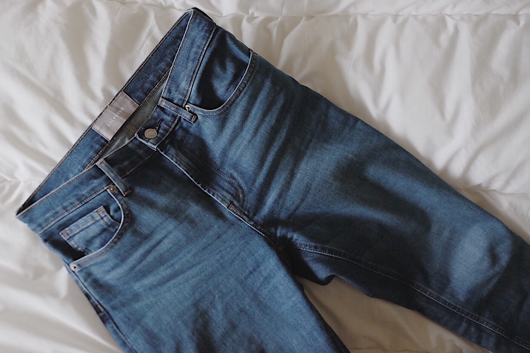 Everlane High Waisted Jean Review   Selflessly Styled