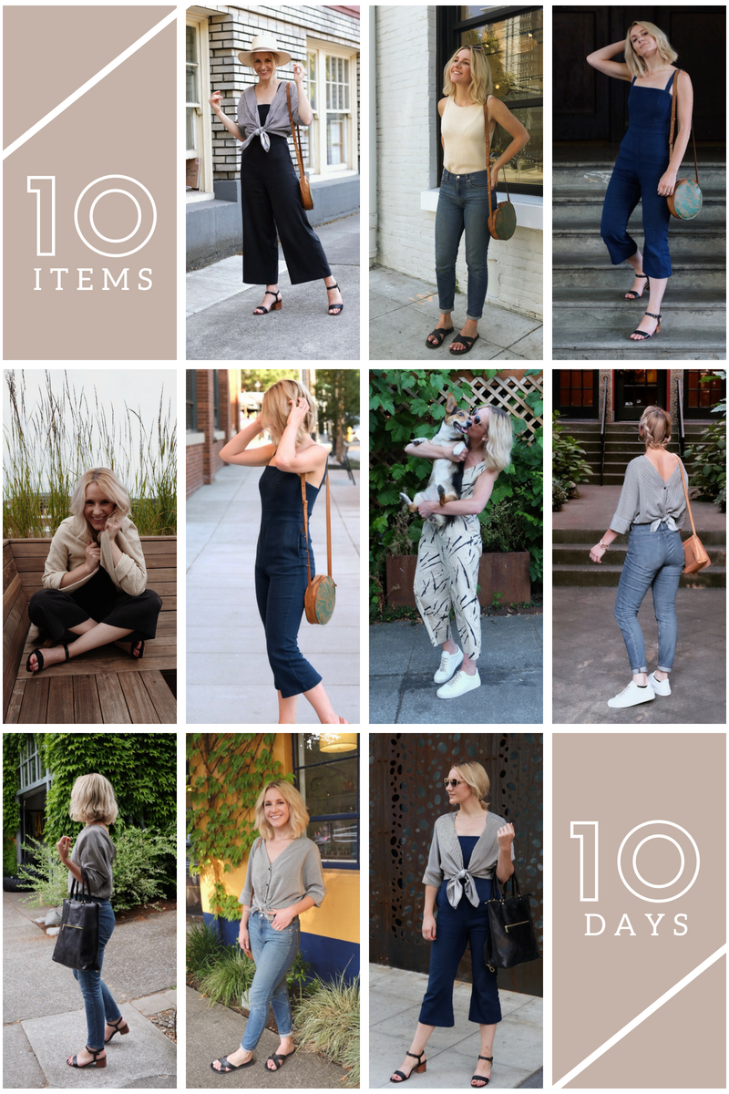 10 Days 10 Items Inspo | Ethical Fashion Blogger
