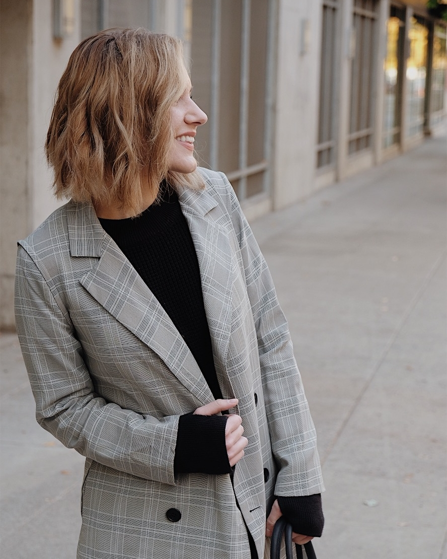 Selflessly Styled ethical fashion blogger reviews Vetta's edgy capsule sweater and blazer