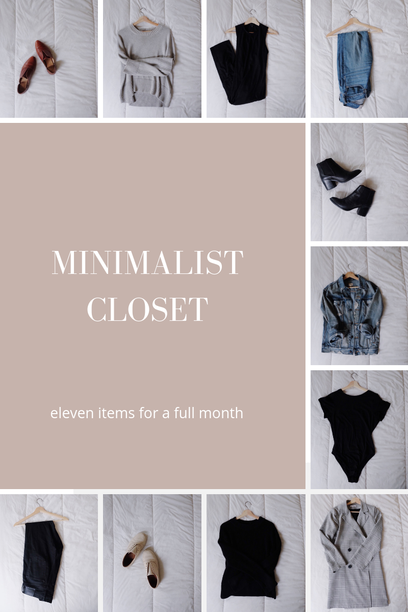 Minimalist Closet | Ethical Fashion