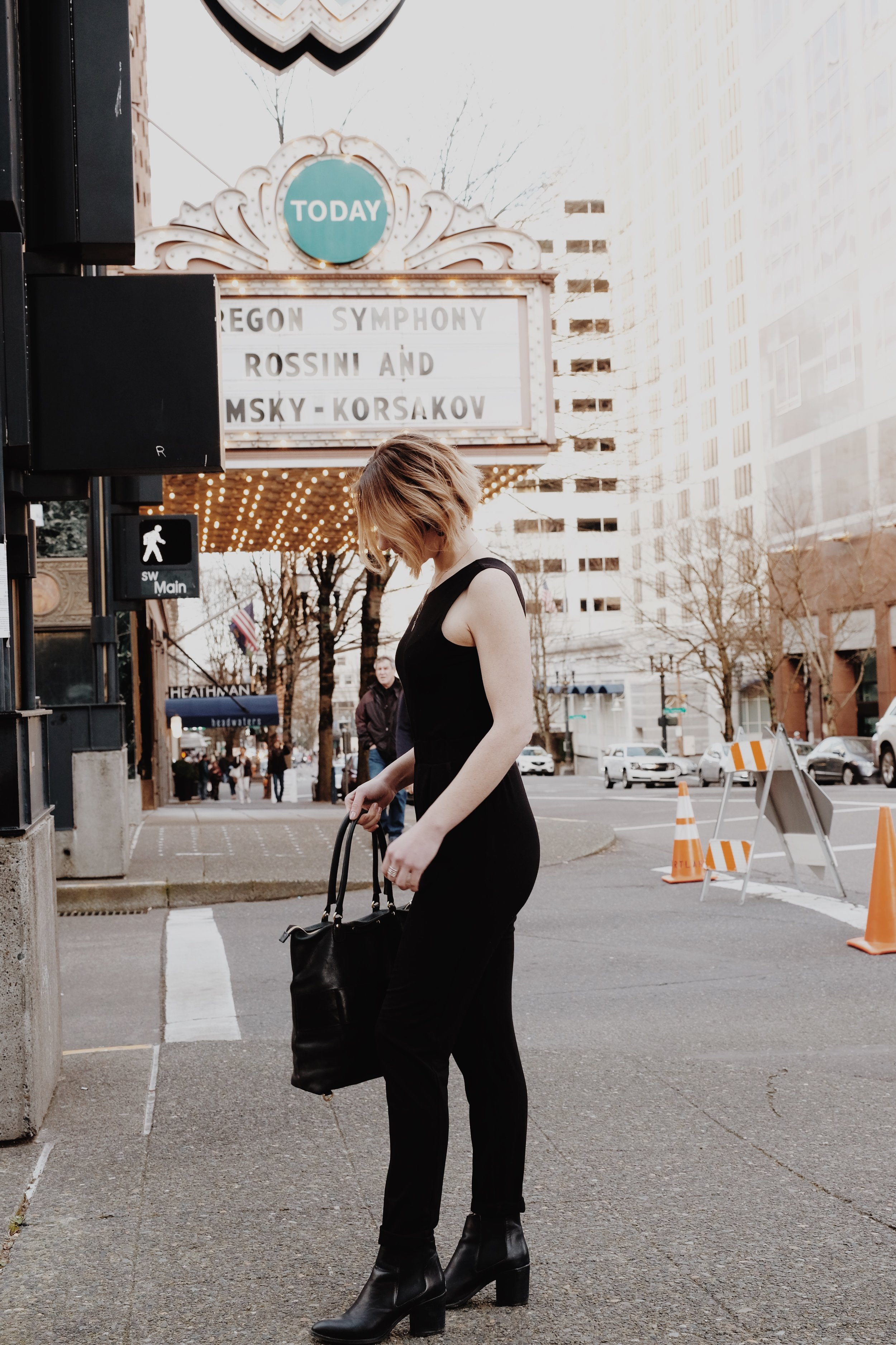 Encircled Black All Day Jumpsuit | Selflessly Styled
