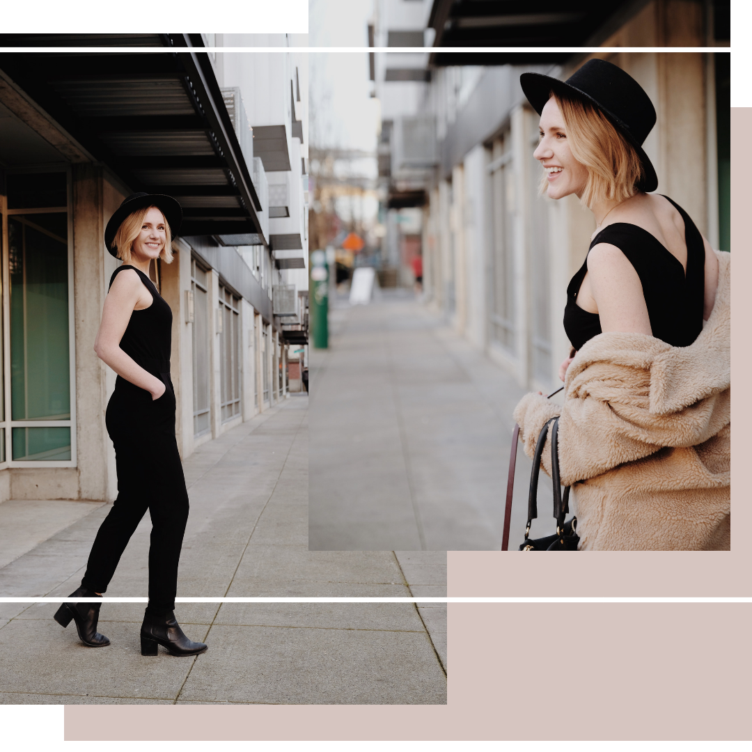 Ethically Made Black Jumpsuit