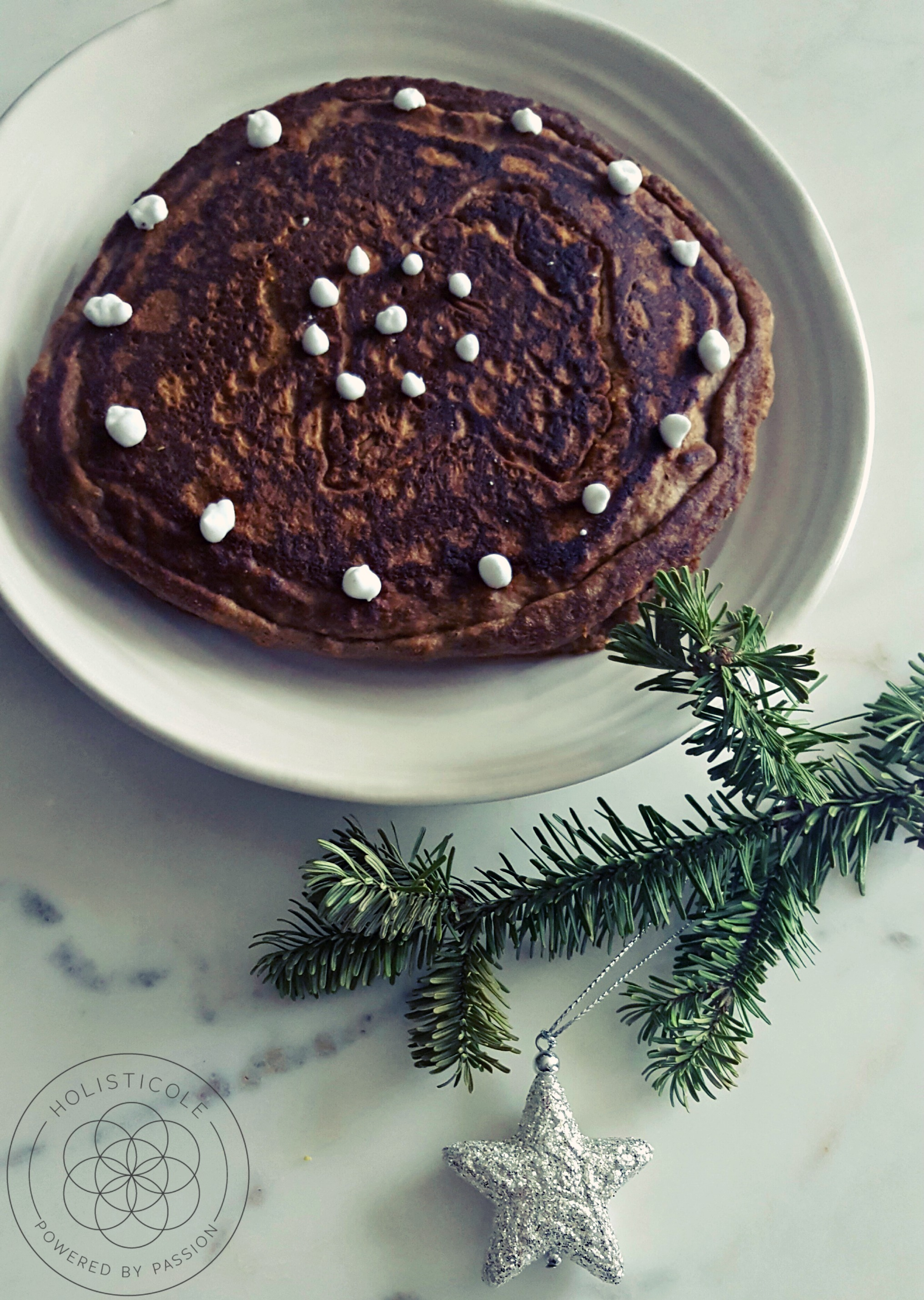 Gingerbread Pancakes - Holisticole